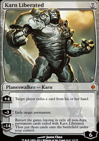 Karn Liberated - New Phyrexia
