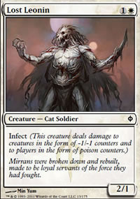 Lost Leonin - New Phyrexia