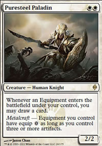 Puresteel Paladin - New Phyrexia