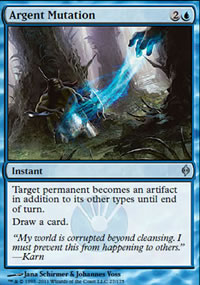 Argent Mutation - New Phyrexia