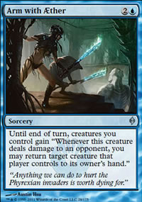 Arm with Aether - New Phyrexia