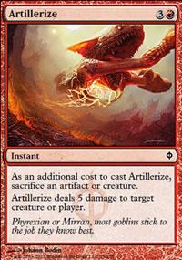 Artillerize - New Phyrexia
