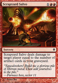Scrapyard Salvo - New Phyrexia