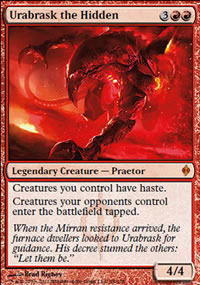Urabrask the Hidden - New Phyrexia