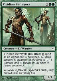 Viridian Betrayers - New Phyrexia