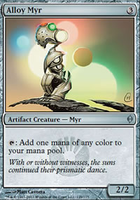 Alloy Myr - New Phyrexia