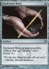 Darksteel Relic - New Phyrexia