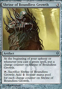 Shrine of Boundless Growth - New Phyrexia