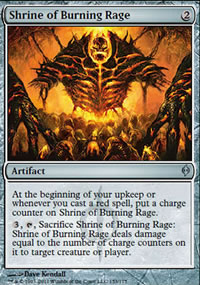 Shrine of Burning Rage - New Phyrexia