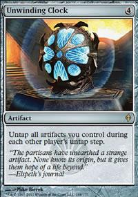 Unwinding Clock - New Phyrexia