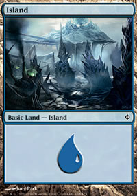 Island 1 - New Phyrexia