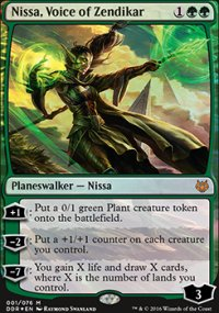 Nissa, Voice of Zendikar - Nissa vs. Ob Nixilis