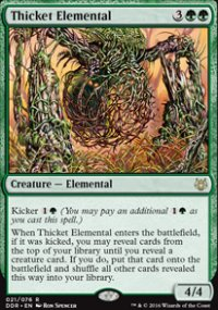 Thicket Elemental - Nissa vs. Ob Nixilis