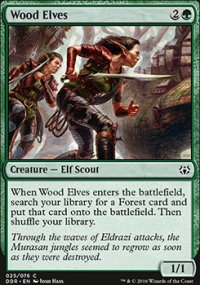 Wood Elves - Nissa vs. Ob Nixilis