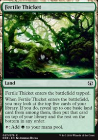 Fertile Thicket - Nissa vs. Ob Nixilis