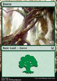 Forest 1 - Nissa vs. Ob Nixilis