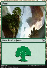 Forest 3 - Nissa vs. Ob Nixilis