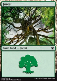 Forest 4 - Nissa vs. Ob Nixilis