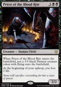 Priest of the Blood Rite - Nissa vs. Ob Nixilis