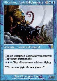 Aboshan, Cephalid Emperor - Odyssey