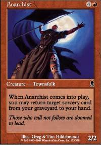 Anarchist - Odyssey