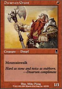 Dwarven Grunt - Odyssey