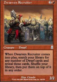 Dwarven Recruiter - Odyssey