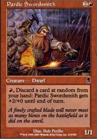 Pardic Swordsmith - Odyssey