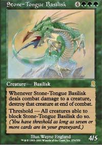 Stone-Tongue Basilisk - Odyssey