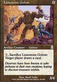 Limestone Golem - Odyssey
