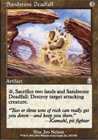 Sandstone Deadfall - Odyssey