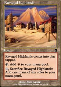 Ravaged Highlands - Odyssey