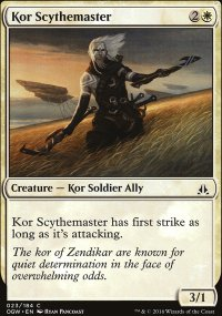 Kor Scythemaster - Oath of the Gatewatch
