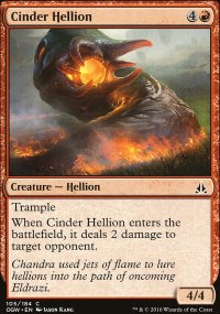 Cinder Hellion - Oath of the Gatewatch