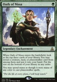 Oath of Nissa - Oath of the Gatewatch