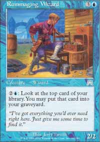 Rummaging Wizard - Onslaught