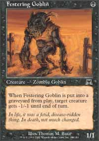 Festering Goblin - Onslaught
