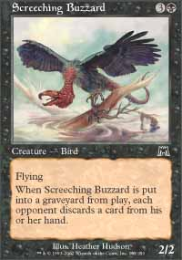 Screeching Buzzard - Onslaught