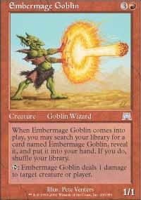 Embermage Goblin - Onslaught