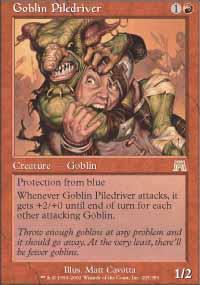 Goblin Piledriver - Onslaught