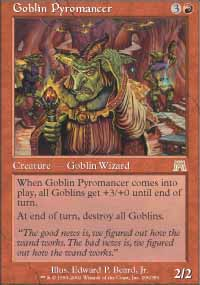 Goblin Pyromancer - Onslaught