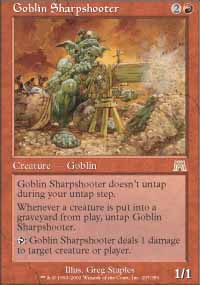 Goblin Sharpshooter - Onslaught