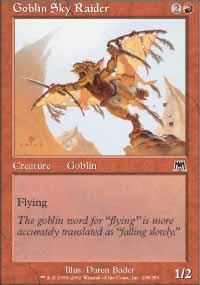 Goblin Sky Raider - Onslaught