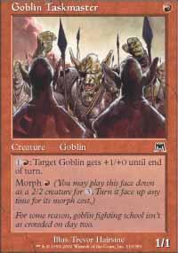 Goblin Taskmaster - Onslaught