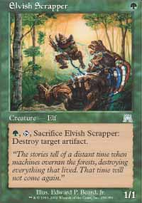 Elvish Scrapper - Onslaught