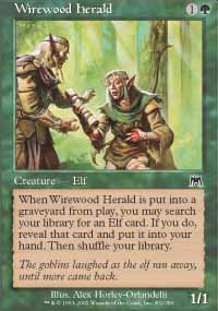 Wirewood Herald - Onslaught