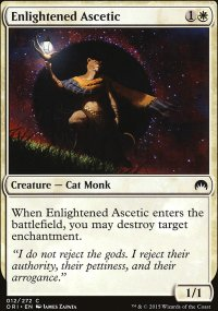 Enlightened Ascetic - Magic Origins