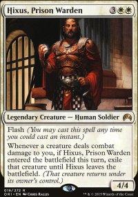 Hixus, Prison Warden - Magic Origins