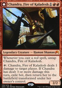 Chandra, Fire of Kaladesh - Magic Origins