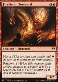 Firefiend Elemental - Magic Origins